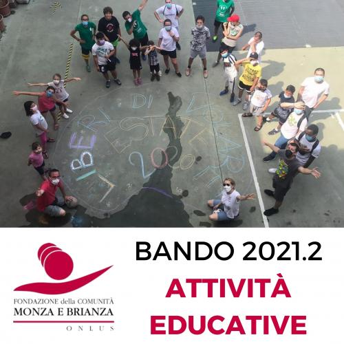 Bando 2021.2 Attività educative