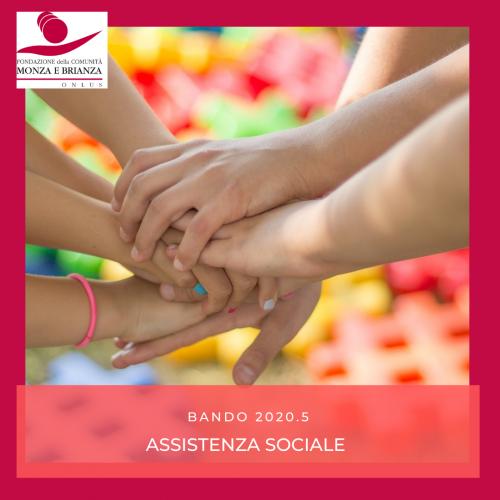Bando 2020.5 assistenza sociale
